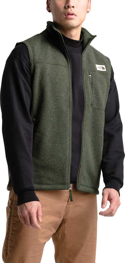 Men's The North Face Gordon Lyons Vest, New Taupe Green Heather, large, image 3