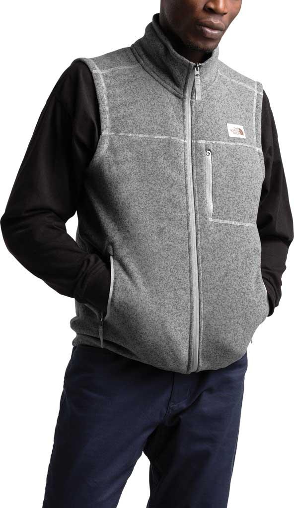 Men's The North Face Gordon Lyons Vest, TNF Medium Grey Heather, large, image 3