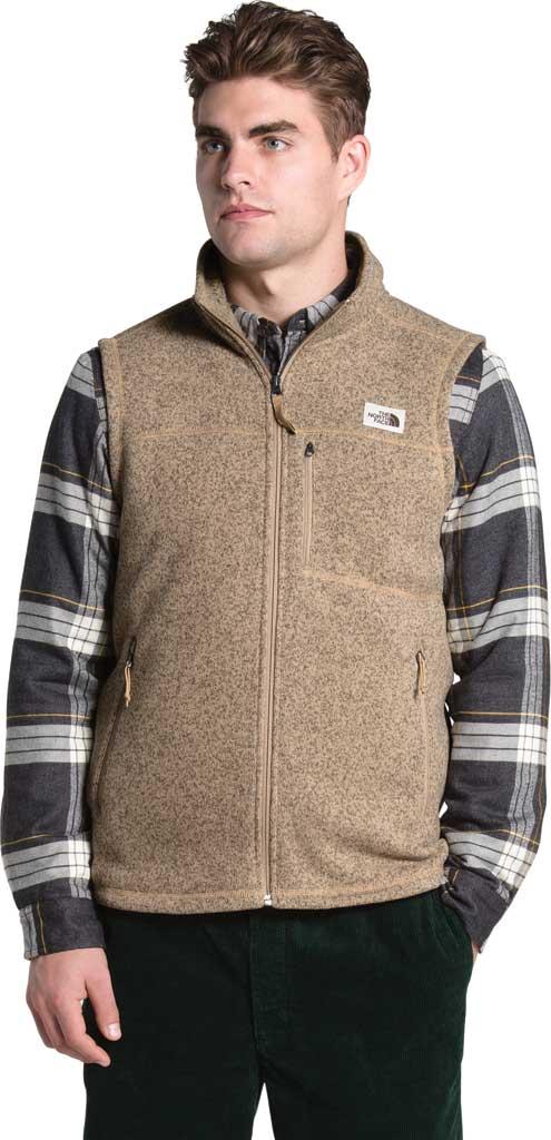 Men's The North Face Gordon Lyons Vest, Hawthorne Khaki Heather, large, image 1