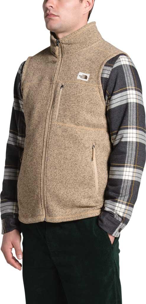 Men's The North Face Gordon Lyons Vest, Hawthorne Khaki Heather, large, image 3