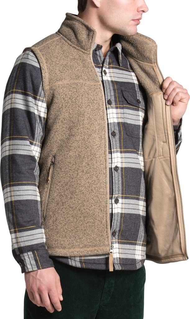 Men's The North Face Gordon Lyons Vest, Hawthorne Khaki Heather, large, image 4