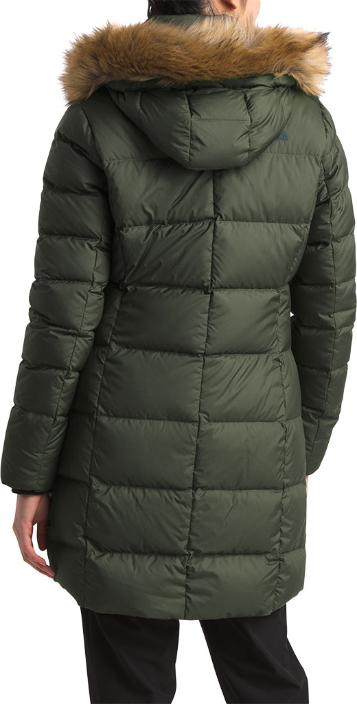 Women's The North Face Dealio Down Parkina, New Taupe Green, large, image 2