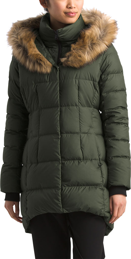 Women's The North Face Dealio Down Parkina, New Taupe Green, large, image 4