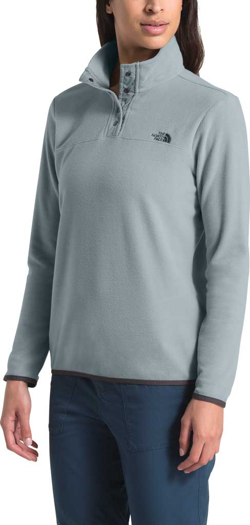 Women's The North Face TKA Glacier Snap Neck Pullover, , large, image 3