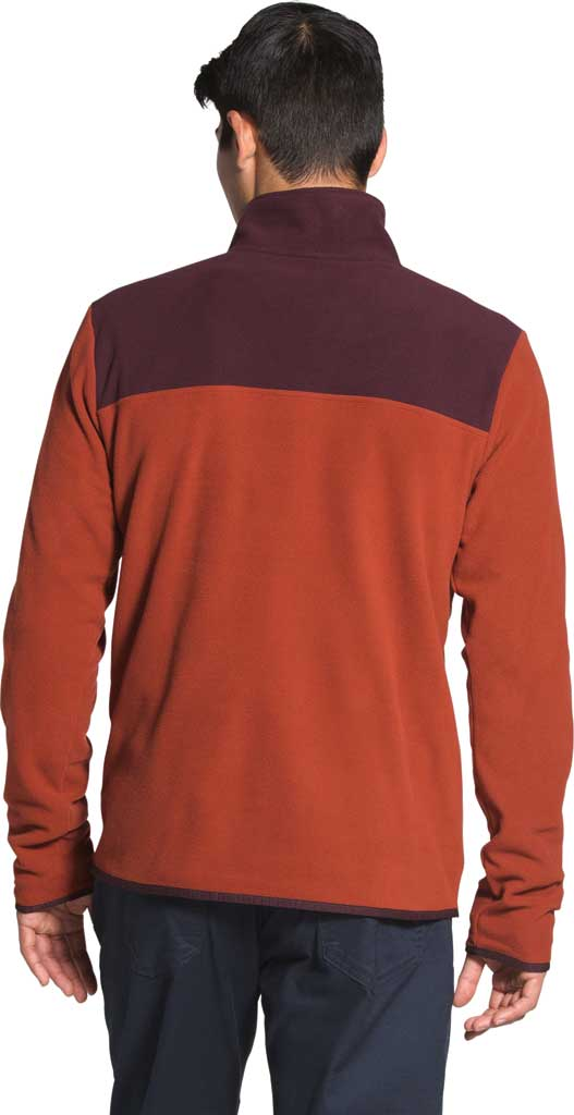 Men's The North Face TKA Glacier 1/4 Zip Pullover, Brandy Brown/Root Brown, large, image 2