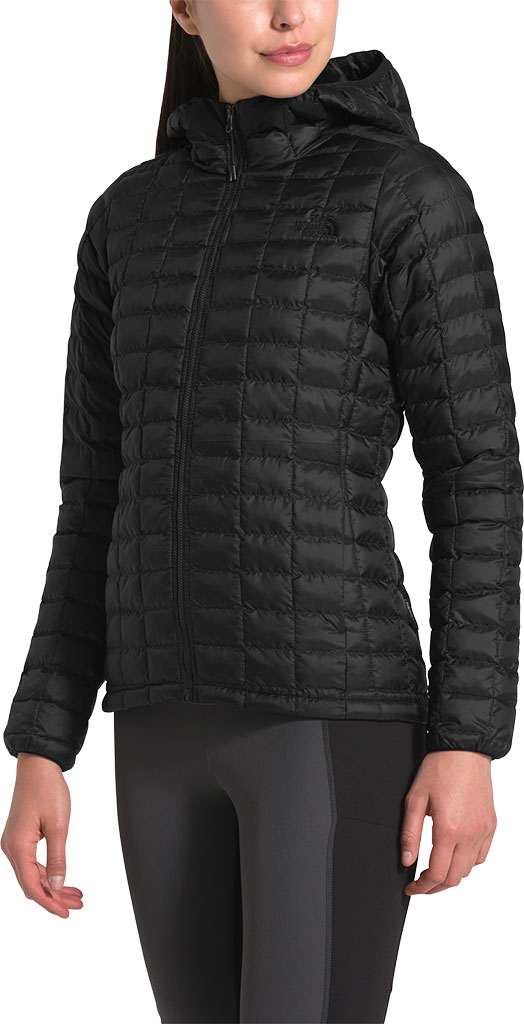 Women's The North Face Thermoball Eco Hoodie, TNF Black Matte, large, image 3