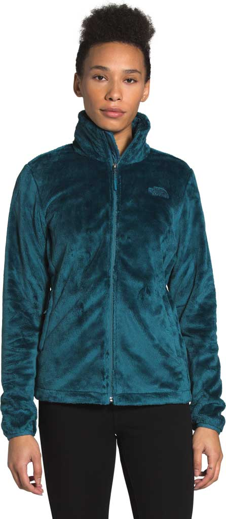 Women's The North Face Osito Jacket, Mallard Blue, large, image 1
