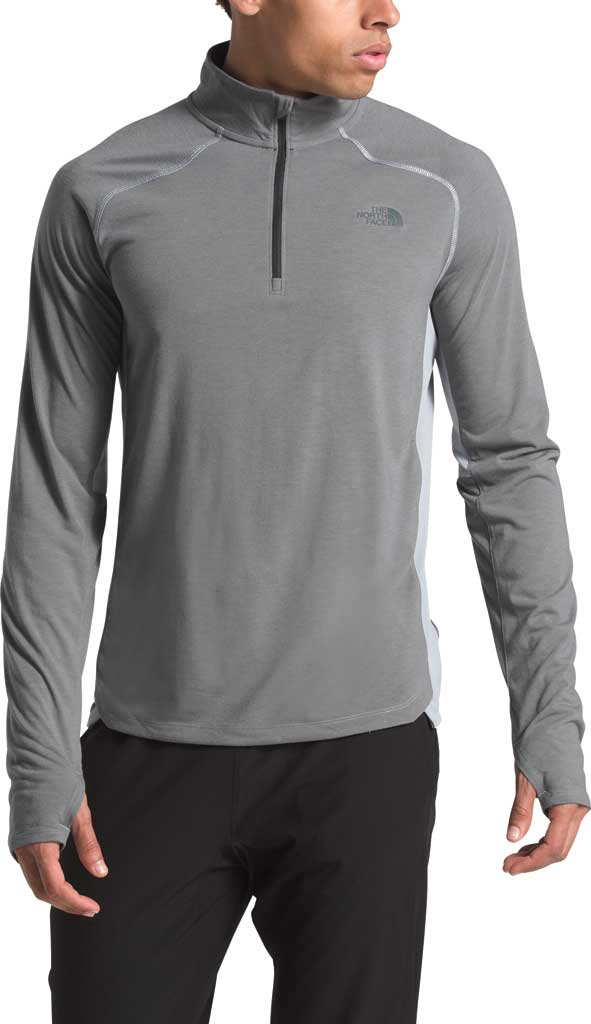 Men's The North Face Essential 1/4 Zip Pullover, TNF Medium Grey Heather, large, image 1