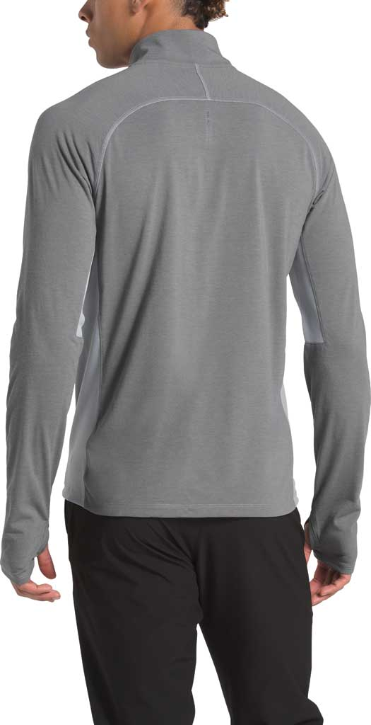 Men's The North Face Essential 1/4 Zip Pullover, TNF Medium Grey Heather, large, image 2