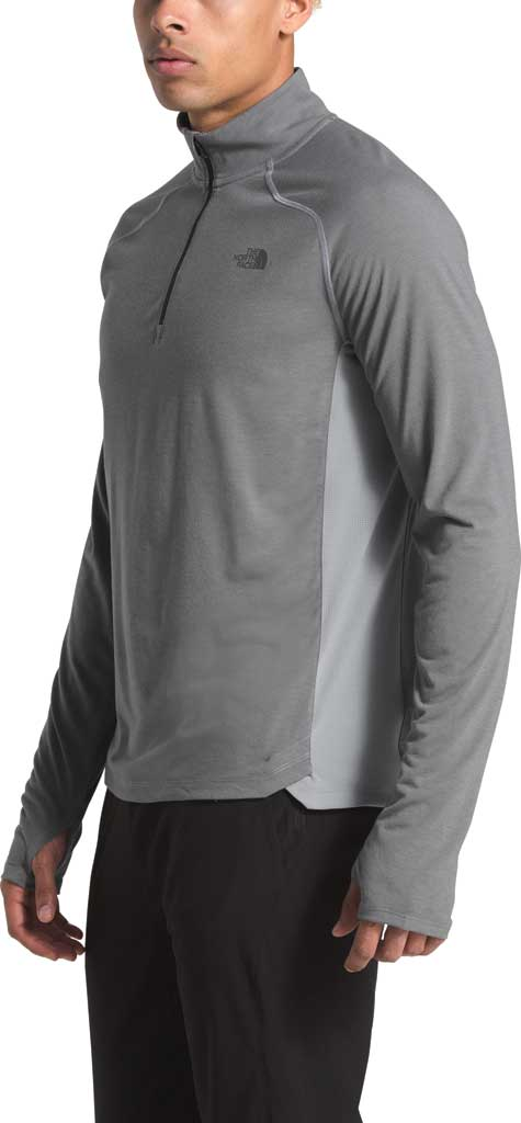 Men's The North Face Essential 1/4 Zip Pullover, TNF Medium Grey Heather, large, image 3