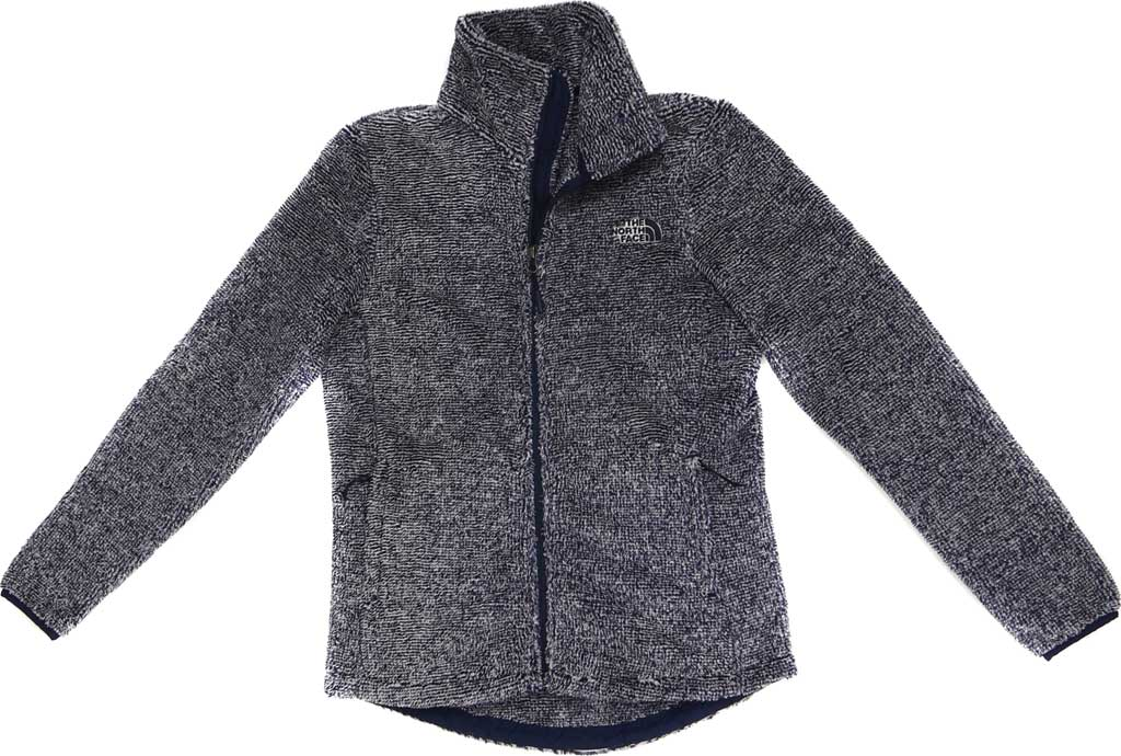 Women's The North Face Seasonal Osito Jacket, Urban Navy/Dove Grey, large, image 1
