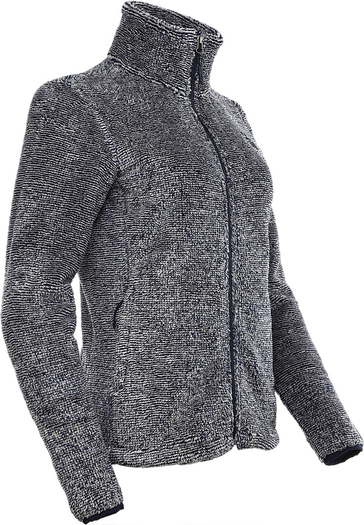 Women's The North Face Seasonal Osito Jacket, Urban Navy/Dove Grey, large, image 3