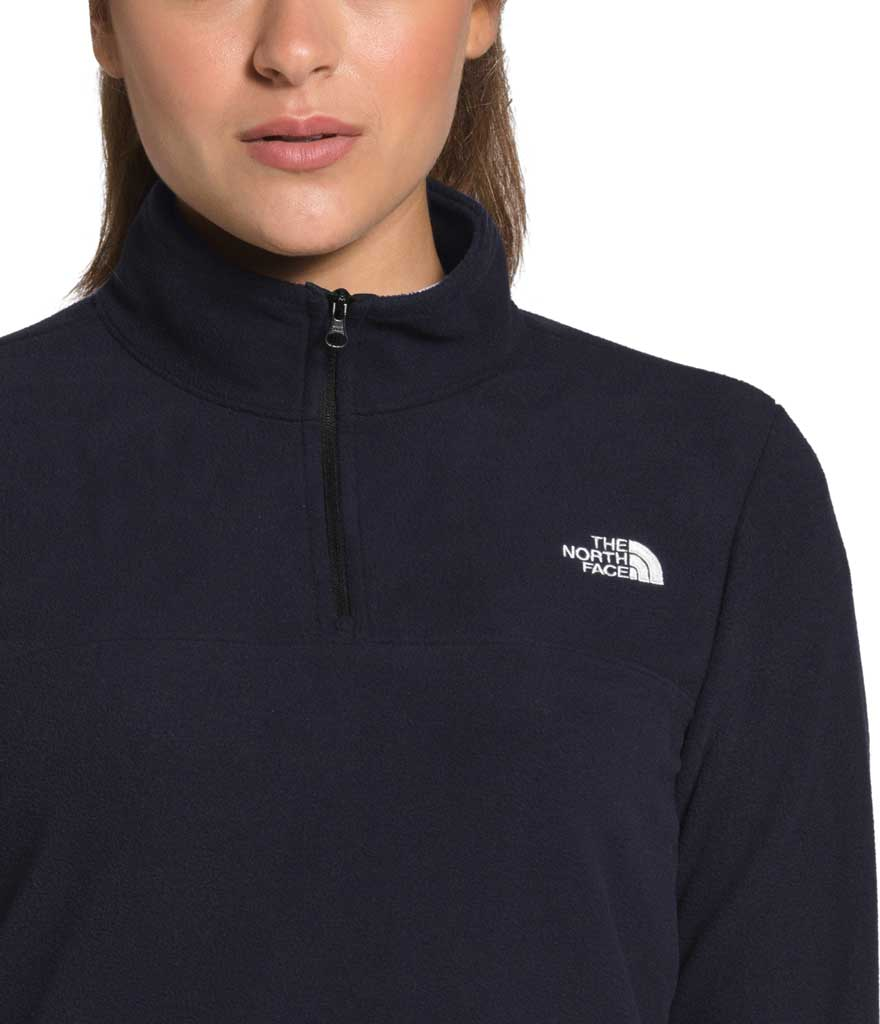Women's The North Face TKA Glacier 1/4 Zip Pullover, Aviator Navy, large, image 4