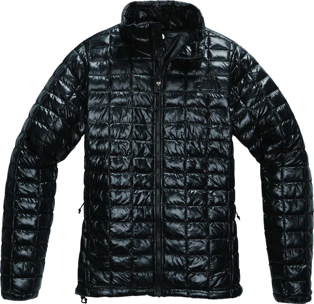 Women's The North Face Thermoball Eco Winter Jacket, TNF Black, large, image 1