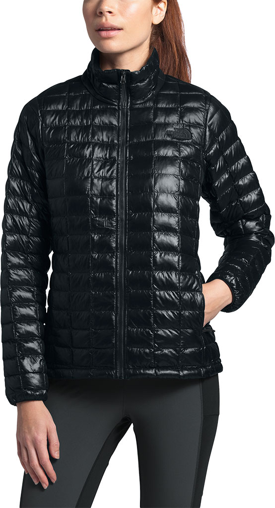 Women's The North Face Thermoball Eco Winter Jacket, TNF Black, large, image 2