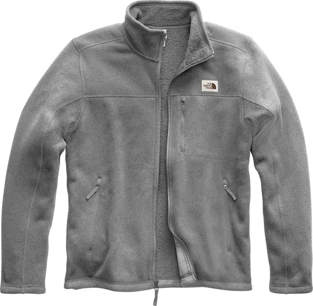 Men's The North Face Gordon Lyons Full Zip, TNF Medium Grey Heather, large, image 1