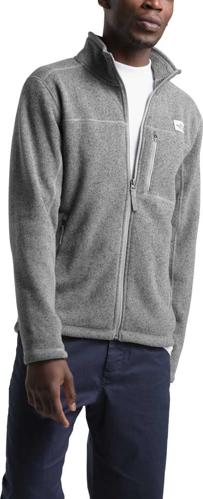 Men's The North Face Gordon Lyons Full Zip, TNF Medium Grey Heather, large, image 3
