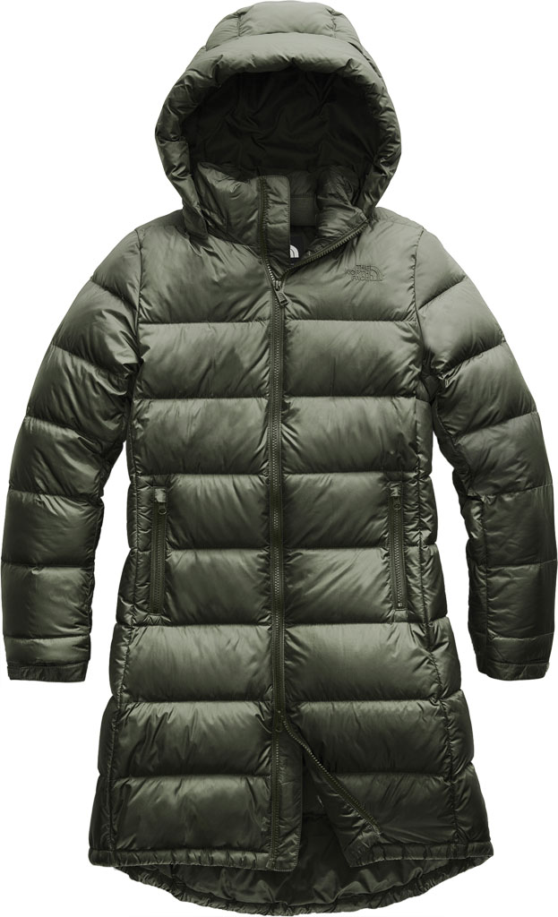 Women's The North Face Metropolis Parka III, New Taupe Green, large, image 1