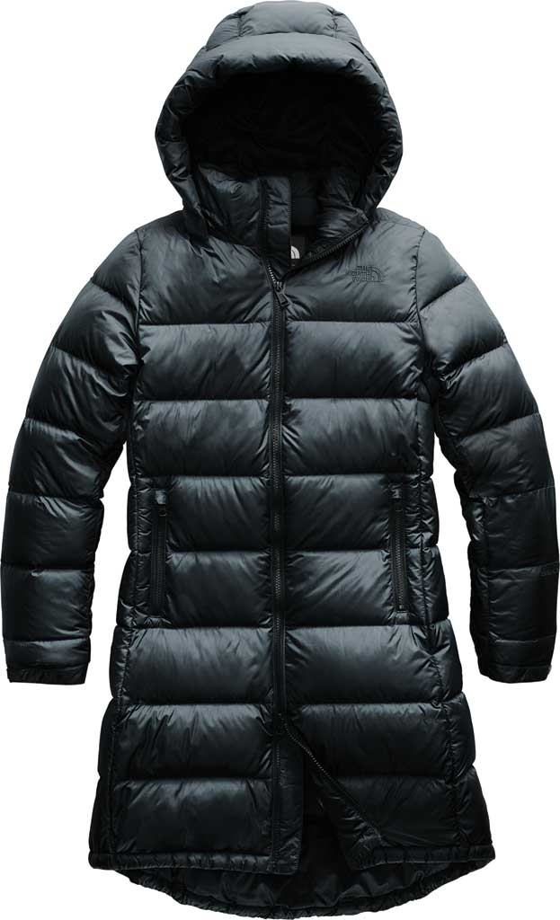 Women's The North Face Metropolis Parka III, TNF Black, large, image 1
