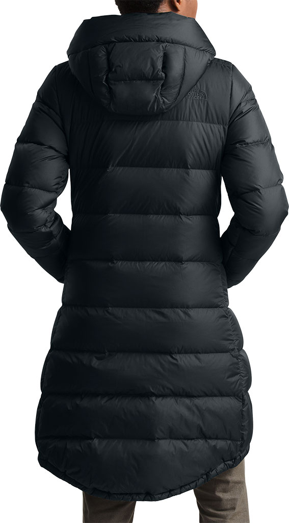 Women's The North Face Metropolis Parka III, TNF Black, large, image 2