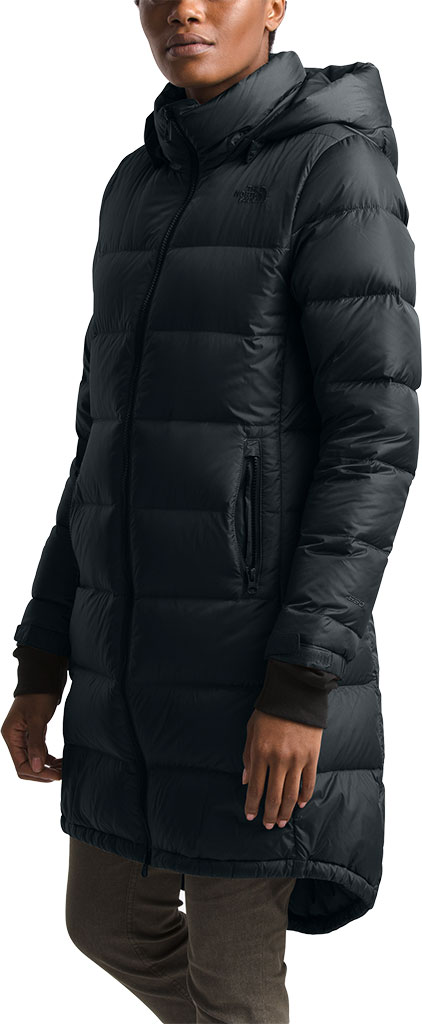 Women's The North Face Metropolis Parka III, TNF Black, large, image 3