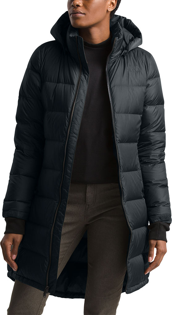 Women's The North Face Metropolis Parka III, TNF Black, large, image 4
