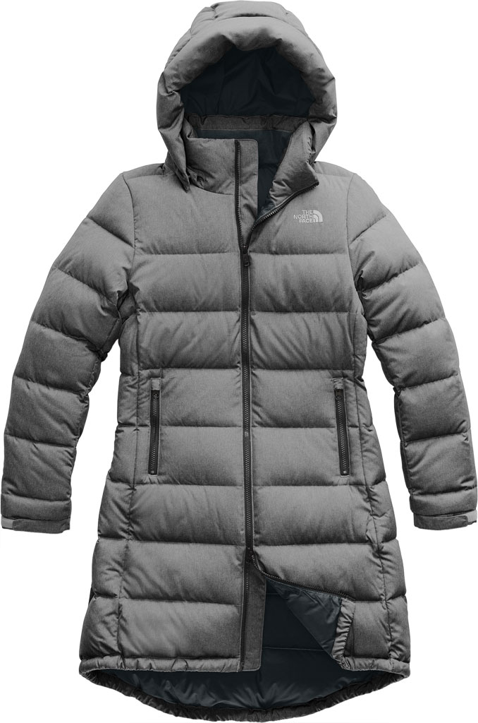 Women's The North Face Metropolis Parka III, TNF Medium Grey Heather, large, image 1