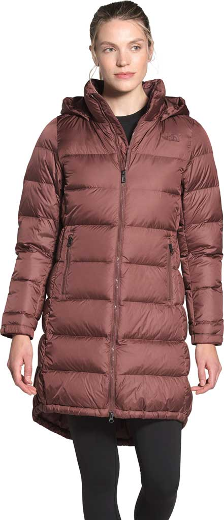 Women's The North Face Metropolis Parka III, Marron Purple, large, image 1