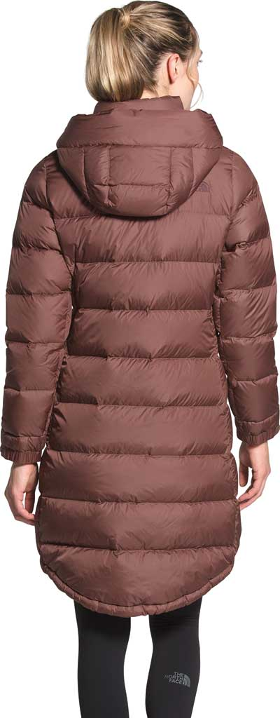 Women's The North Face Metropolis Parka III, Marron Purple, large, image 2