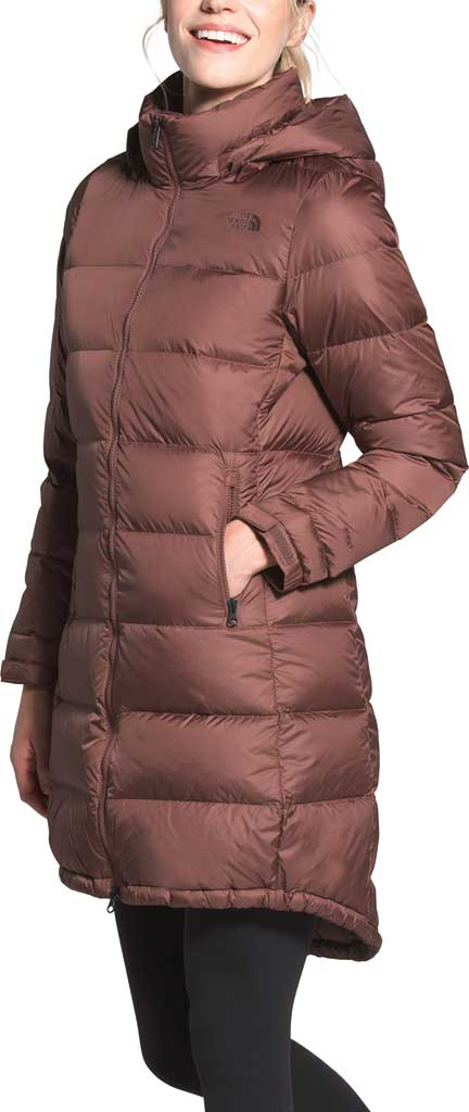 Women's The North Face Metropolis Parka III, Marron Purple, large, image 3