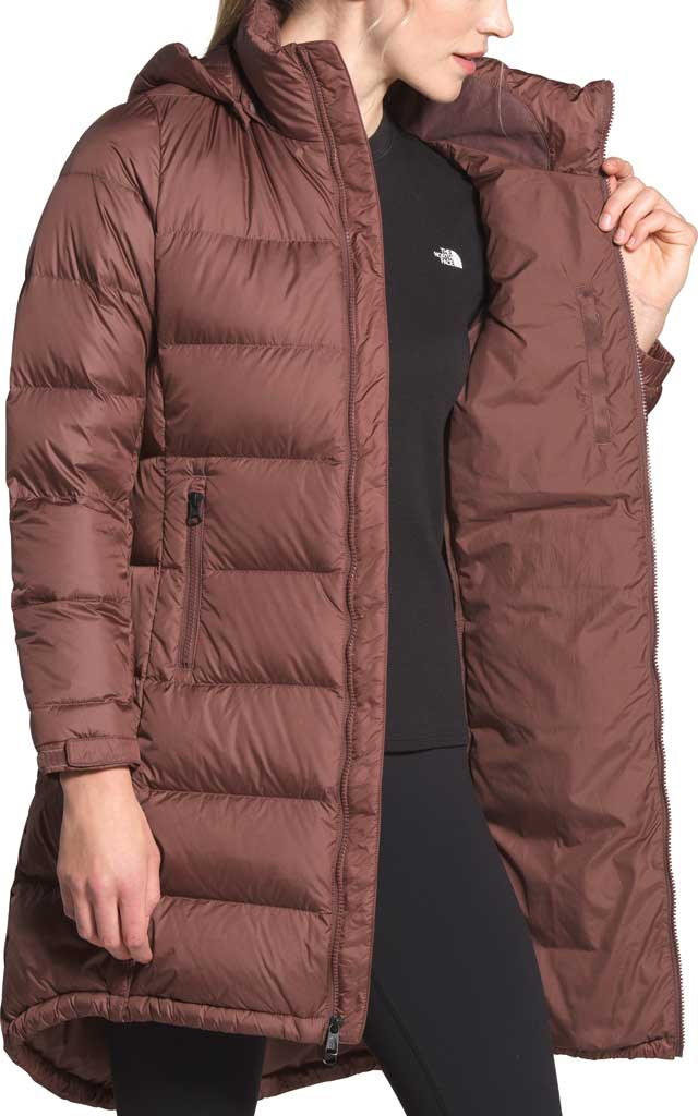 Women's The North Face Metropolis Parka III, Marron Purple, large, image 4