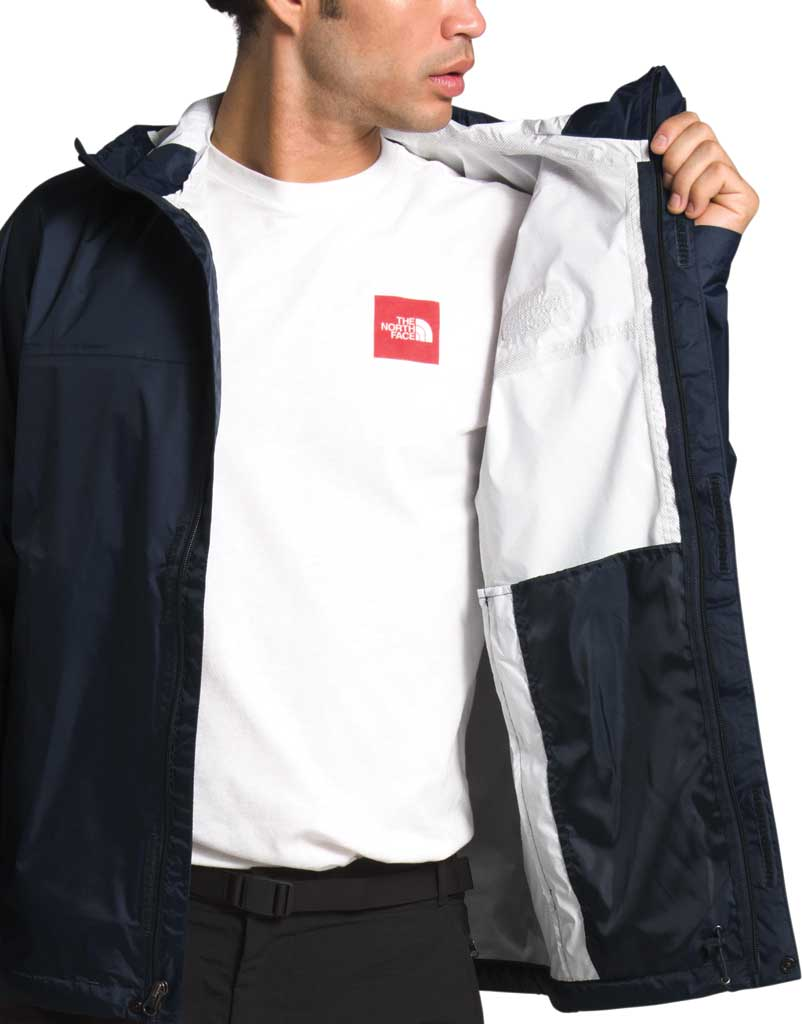Men's The North Face Venture 2 Jacket, Urban Navy/Urban Navy/TNF White, large, image 4