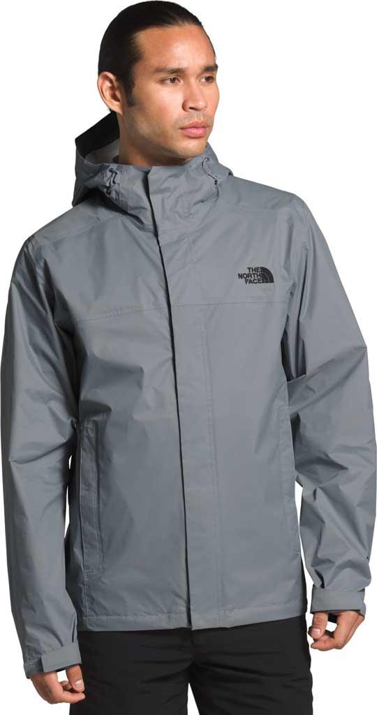 Men's The North Face Venture 2 Jacket, Mid Grey/Mid Grey/TNF Black, large, image 1