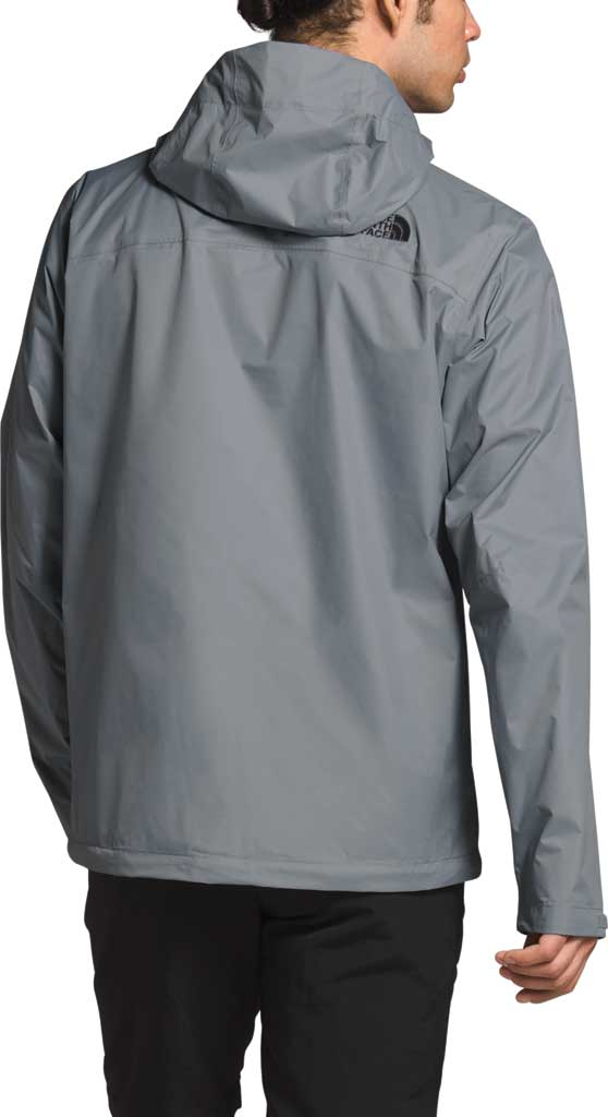 Men's The North Face Venture 2 Jacket, Mid Grey/Mid Grey/TNF Black, large, image 2