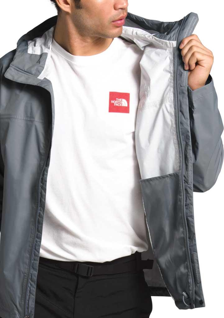 Men's The North Face Venture 2 Jacket, Mid Grey/Mid Grey/TNF Black, large, image 3
