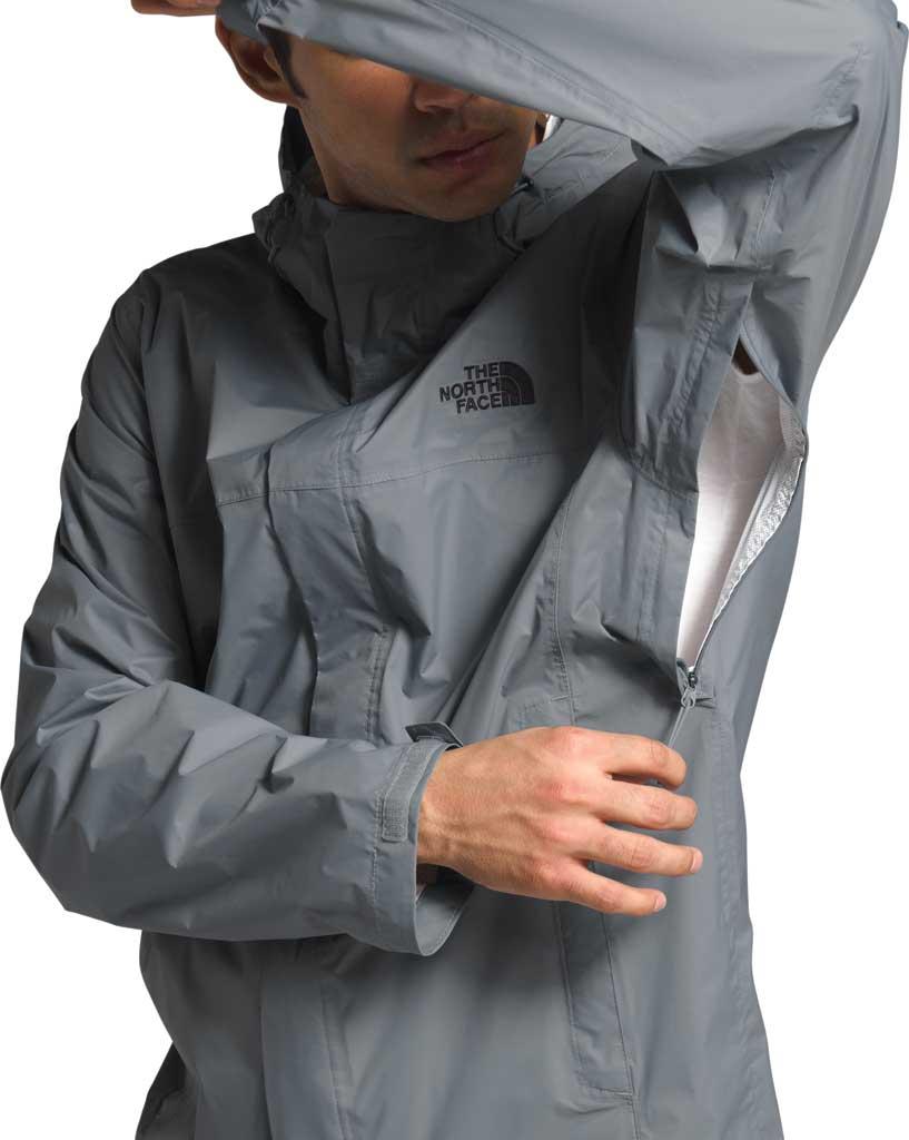Men's The North Face Venture 2 Jacket, Mid Grey/Mid Grey/TNF Black, large, image 4