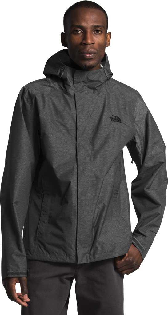 Men's The North Face Venture 2 Jacket, TNF Dark Grey Heather/TNF Grey Heather/TNF Black, large, image 1