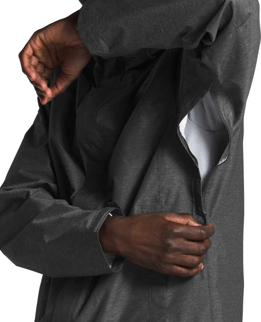 Men's The North Face Venture 2 Jacket, TNF Dark Grey Heather/TNF Grey Heather/TNF Black, large, image 4
