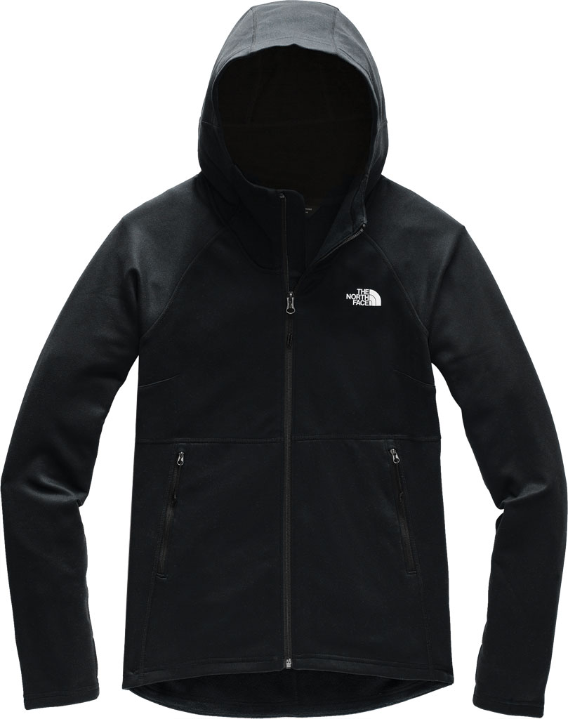 Women's The North Face Canyonlands Hoodie, TNF Black, large, image 1
