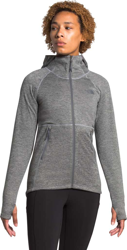 Women's The North Face Canyonlands Hoodie, TNF Medium Grey Heather, large, image 1