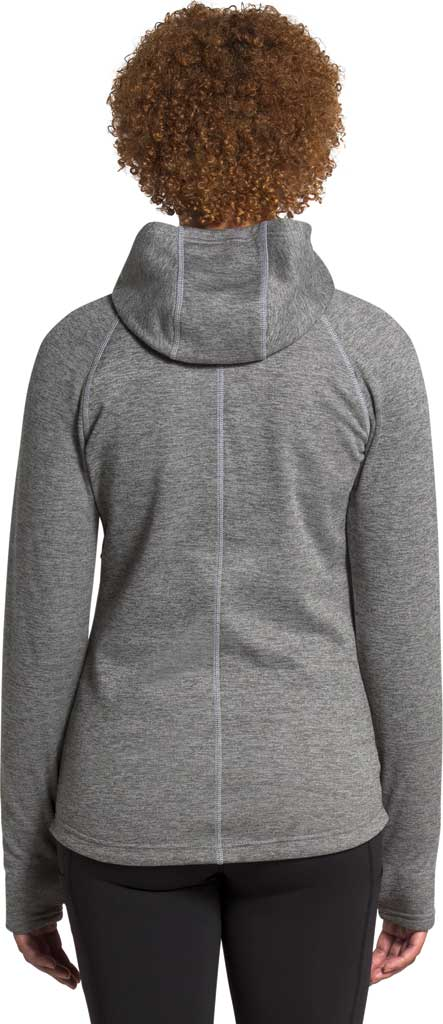 Women's The North Face Canyonlands Hoodie, TNF Medium Grey Heather, large, image 2