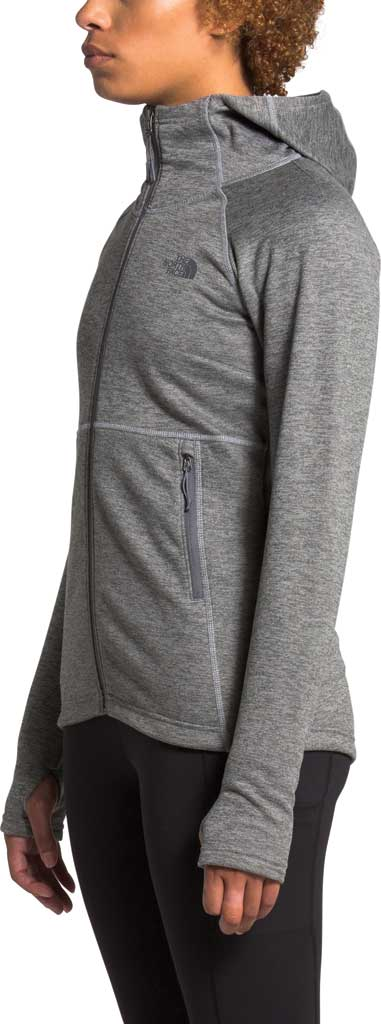 Women's The North Face Canyonlands Hoodie, TNF Medium Grey Heather, large, image 3