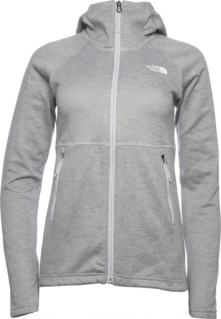 Women's The North Face Canyonlands Hoodie, TNF Light Grey Heather, large, image 1