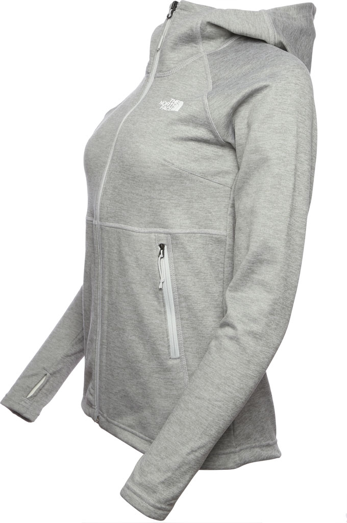 Women's The North Face Canyonlands Hoodie, TNF Light Grey Heather, large, image 2