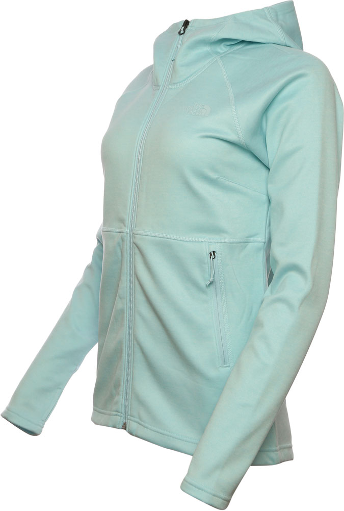 Women's The North Face Canyonlands Hoodie, Starlight Blue Heather, large, image 2