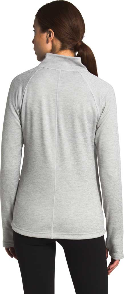 Women's The North Face Canyonlands Full Zip, TNF Light Grey Heather, large, image 2