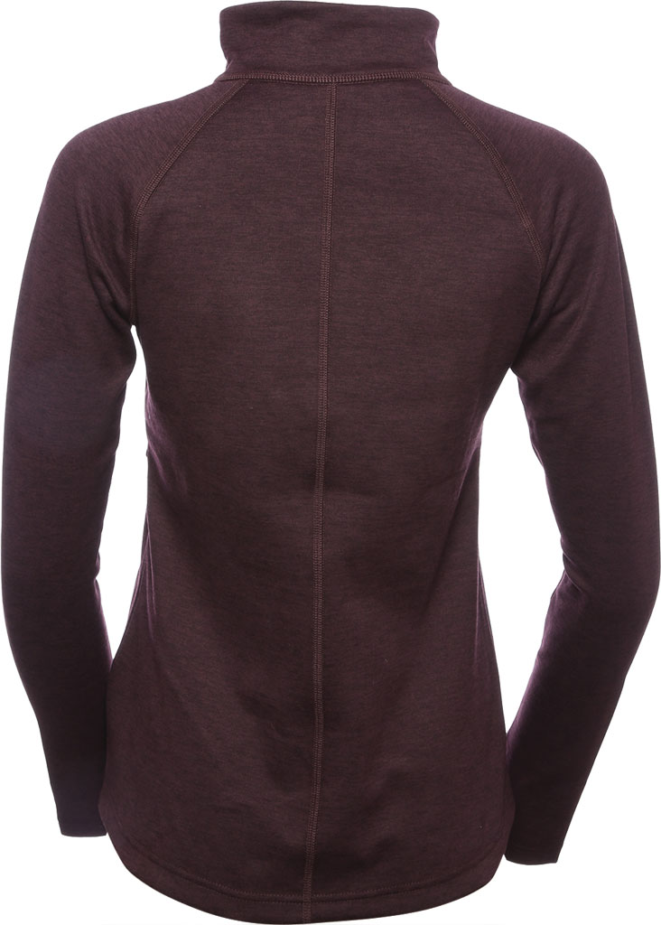 Women's The North Face Canyonlands Full Zip, Root Brown Heather, large, image 3