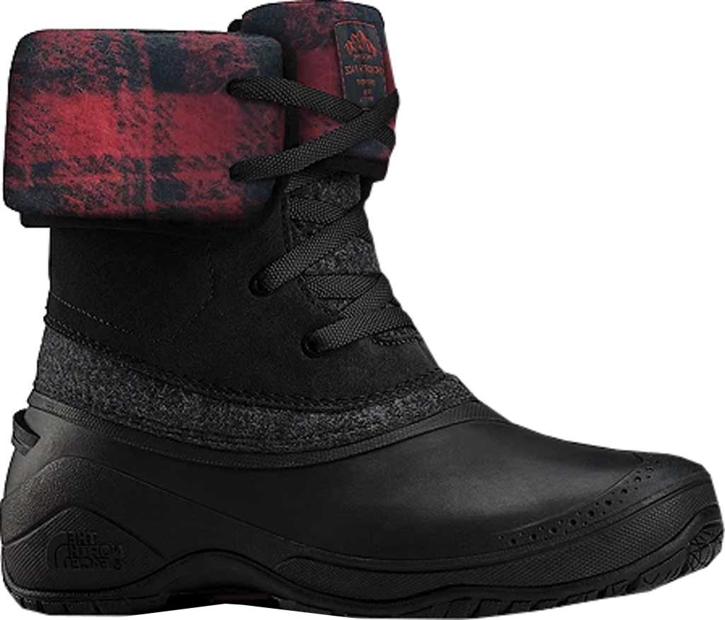 Women's The North Face Shellista II Roll-Down Boot, TNF Black/TNF Black, large, image 1