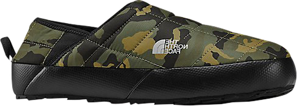 Men's The North Face Thermoball Traction Sneaker, Burnt Olive Green Woodland Camo Print/TNF Black, large, image 1