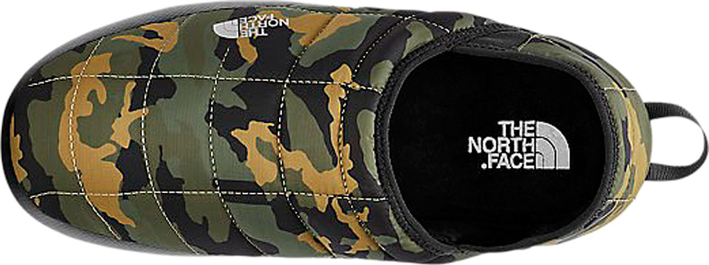 Men's The North Face Thermoball Traction Sneaker, Burnt Olive Green Woodland Camo Print/TNF Black, large, image 3
